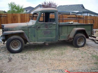 1952 Jeep Willys Base