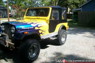 1980 Jeep CJ Renegade